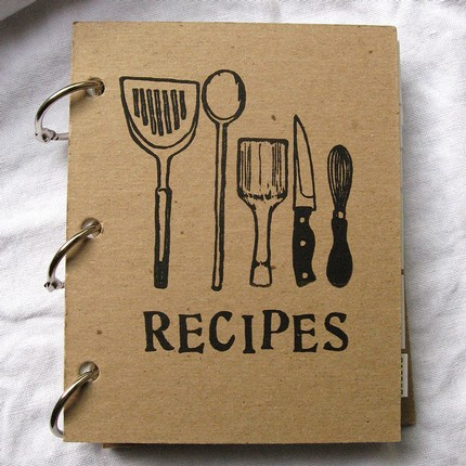 Grab A Pretty Notebook Paperchase Has Some Nice Ones And Line Its Pages With Few Of Your Favourite Recipes