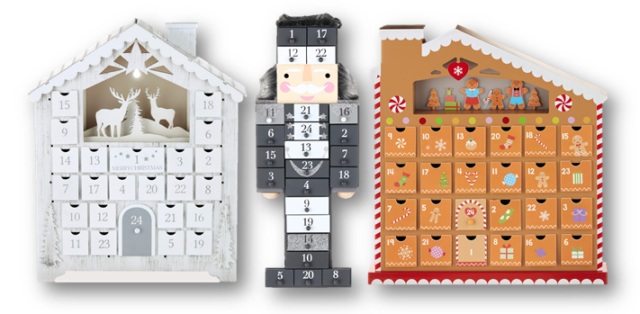 Aldi wooden advent calendars