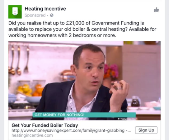 Martin lewis binary trading fake liar ads heating incentive2g solutioingenieria Image collections
