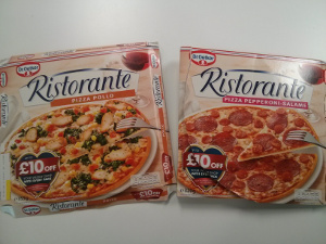 Dr oetker frozen pizza for 163 1 49 you can get unlimited pizza