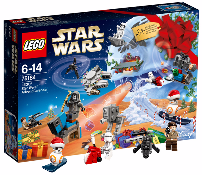Lego Star Wars toy advent calendar