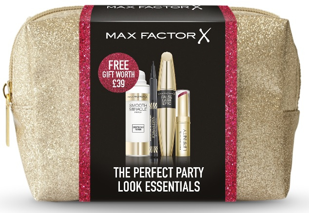 Max Factor free gift with purchase