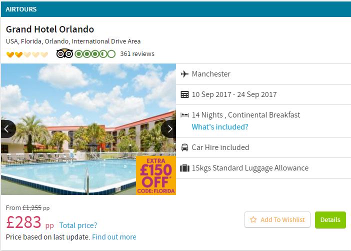 Orlando Hotel.