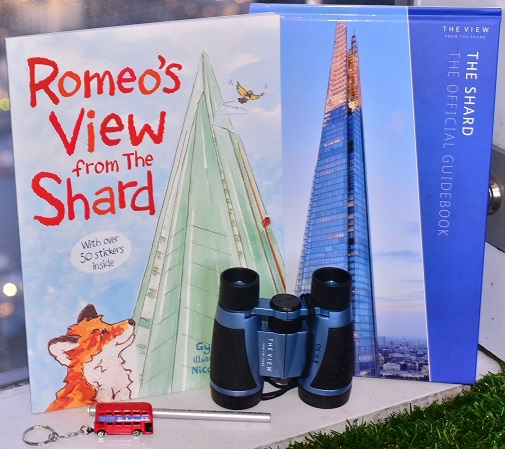 The Shard £20 gift bag with family ticket