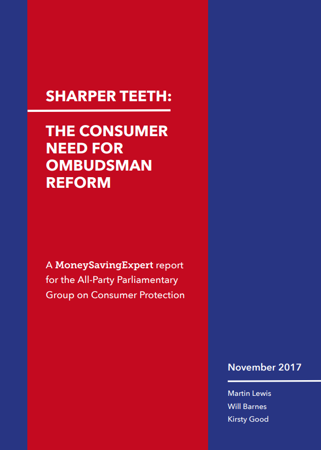 Mse tells mps of need for urgent reform to ombudsman farce read the report by clicking the image above ccuart Image collections