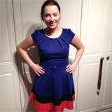 Me in my Tesco dress