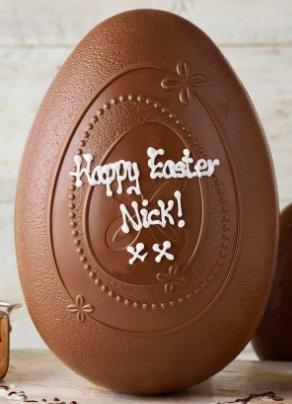 Thorntons Easter egg