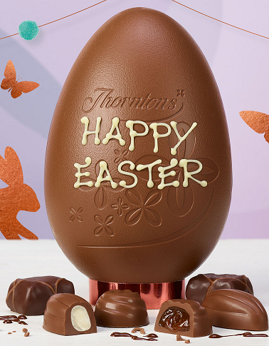 Thorntons Easter egg