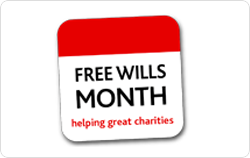 Free wills month logo