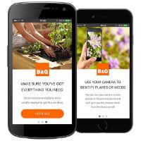 B&Q Gardens app