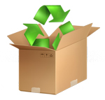 Recycling and giving away goods