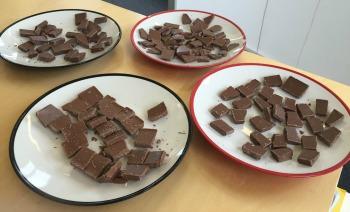 Chocolate taste test