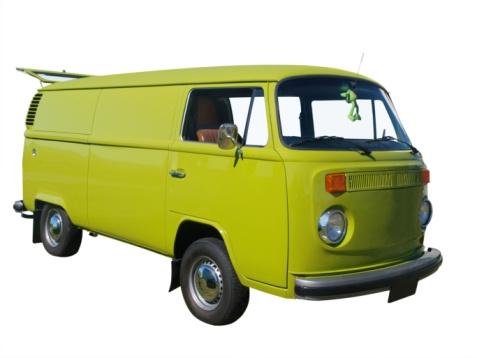 A classic VW van