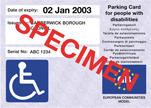 Disabled Permit