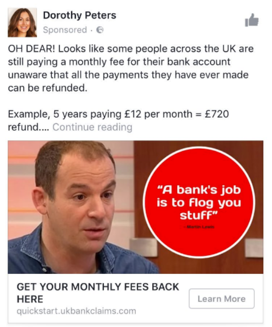 Martin lewis binary trading fake liar ads fake quick start bank claims ad fake ppi refunds solutioingenieria Image collections