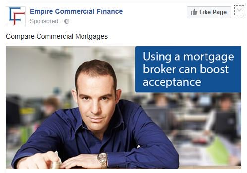 fake empire commercial finance ad