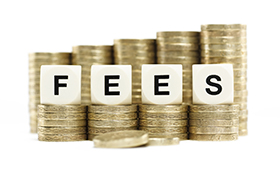What fees will you pay?