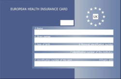 Free European Health Insurance Card (EHIC)