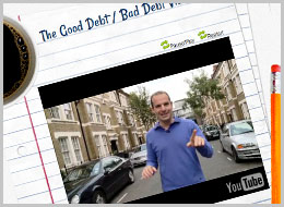 CLICK TO PLAY THE GOOD DEBT BAD DEBT GAME
