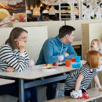 Eat for FREE in the Ikea restaurant (when you spend at least the same amount in store)