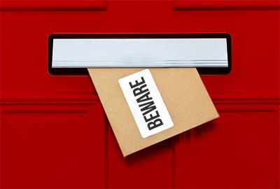 beware of letter