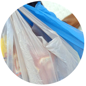 Selling back carrier bags