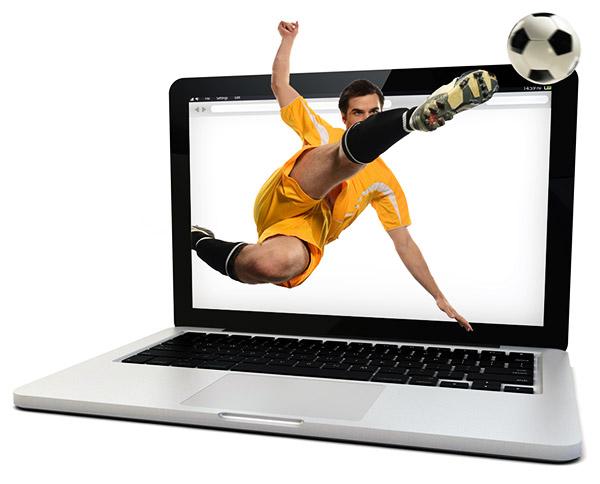Watching football online