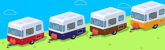 caravan line
