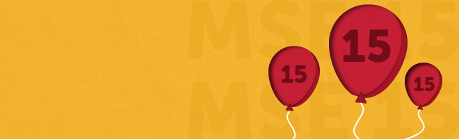 Happy birthday MSE - we're 15 and hope we've saved you billions