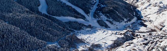 ski slopes