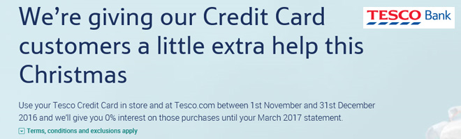 Tesco Bank credit card-holders stung with unexpected charges after being caught out by '0% interest' offer