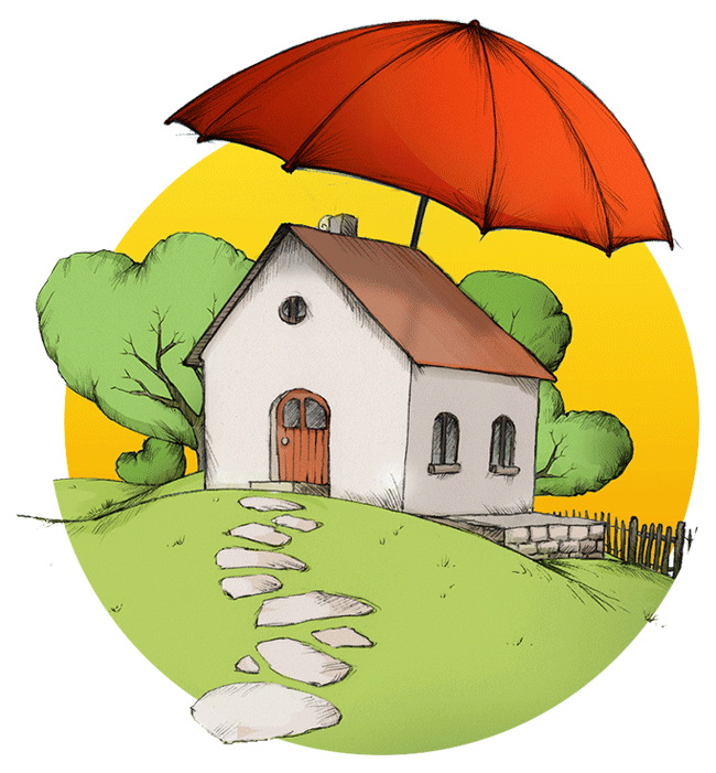 home insurance illustration