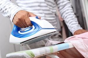 Start an ironing service