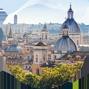 rome city intro