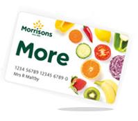 Morrisons More loyalty card