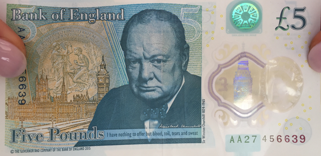 Plastic £5 notes available from today – but can you use them in ticket machines?