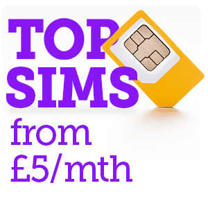 best cheap sim only deals from £5