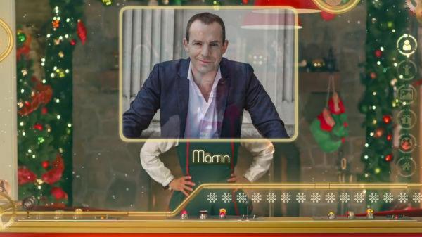 Martin Lewis Santa video