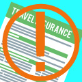 Travel insurance expiry warning
