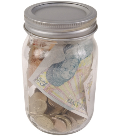 Picture of money jar