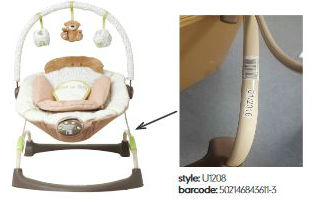 Mothercare 'Loved So Much' baby bouncer