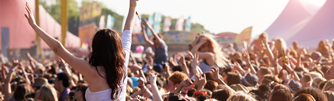 Going to a festival this summer? Make sure you're protected