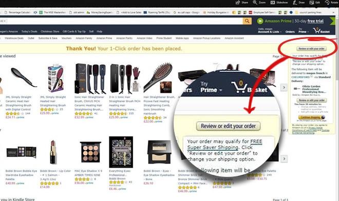 amazon one click