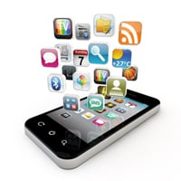 Apps on a smart phone