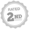Rated 2nd ribbon