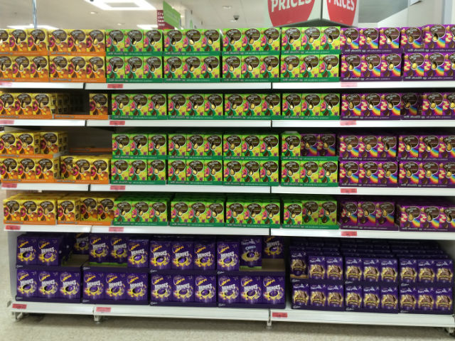 Sainsbury's Easter eggs