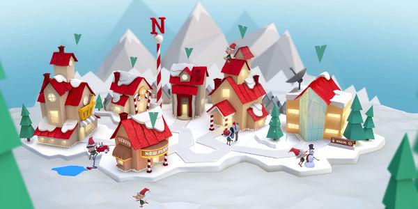 Norad Santa - Santa's Village 2016