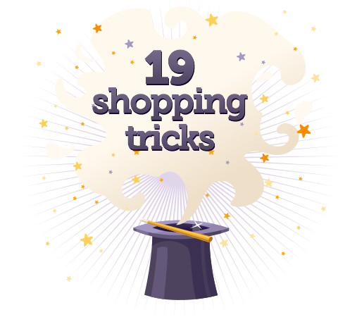Shopping tricks