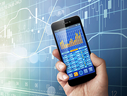 Stocks & shares ISA platform on smartphone
