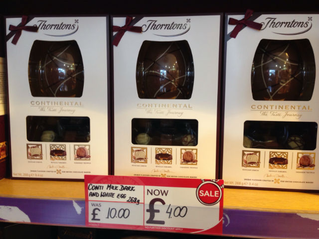 Thorntons Easter eggs